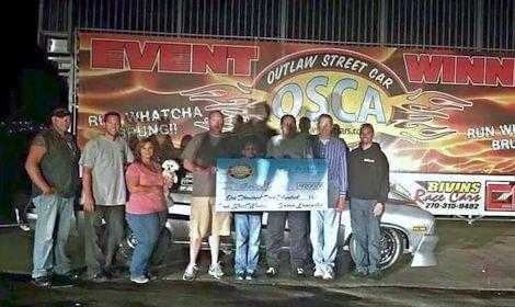 Nathan Stinson OSCA True Street Winner at Bowling Green