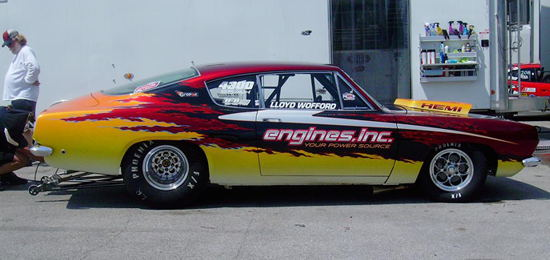 Lloyd Wofford\'s Cuda - Best Appearing at Indy