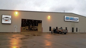 B & B Race Cars New 66,000 sq. ft. Shop