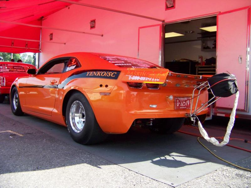 B & B Race Cars - Don Baskin's 2010 Camaro for NMCA Pro Stock